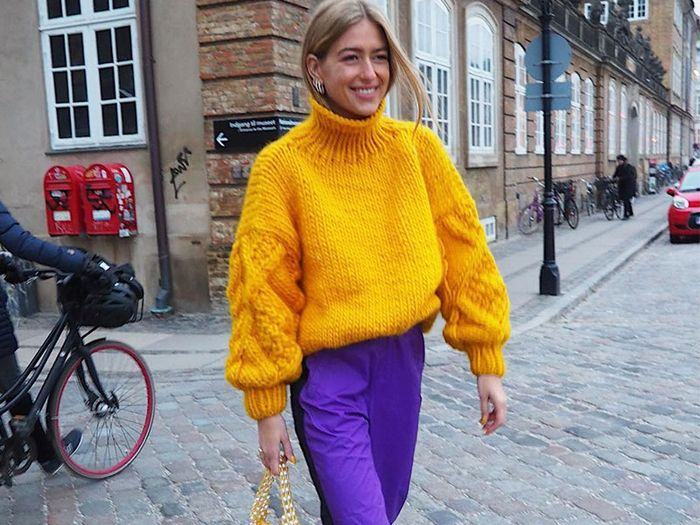 How to Wear Purple Pants—Stylish Outfit Ideas | Who What We