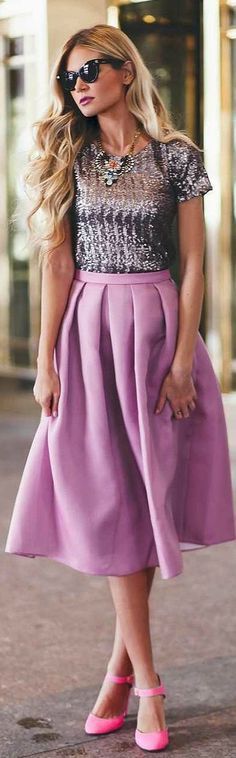 43 Best Purple Skirt Outfits images | Outfits, Cute outfits, My sty