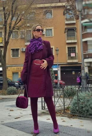 How to wear purple skirts | Purple skirts, Purple skirts outfit .