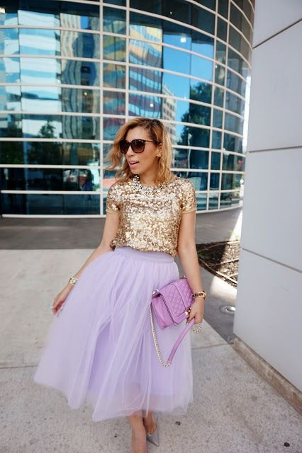 12 Perfect Outfits That Show How To Rock A Tulle Skirt | Kleidung .