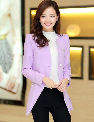 Light Purple Blazer | Blazer outfits for women, Blazers for women .