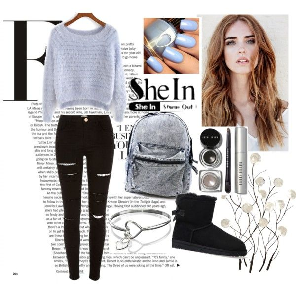 Fashion Forward: Best Sets On Polyvore | Purple sweater, Sweaters .