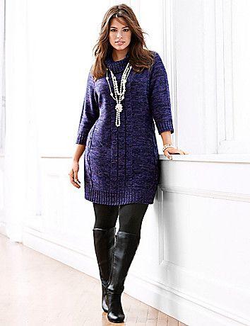 5 ways to wear a plus size sweater dress - Page 5 of 7 - larisoltd.c