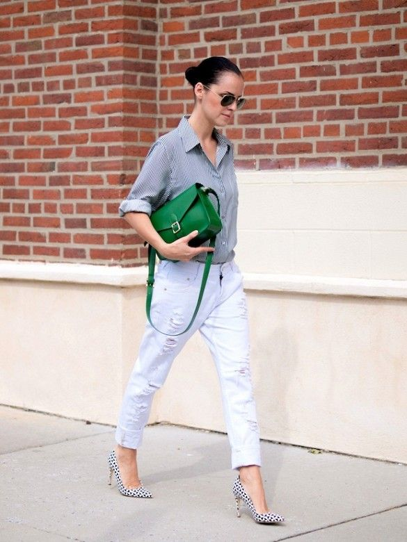 7 Looks That Have Us Crushing On Green Bags | Green bag, Fashion .