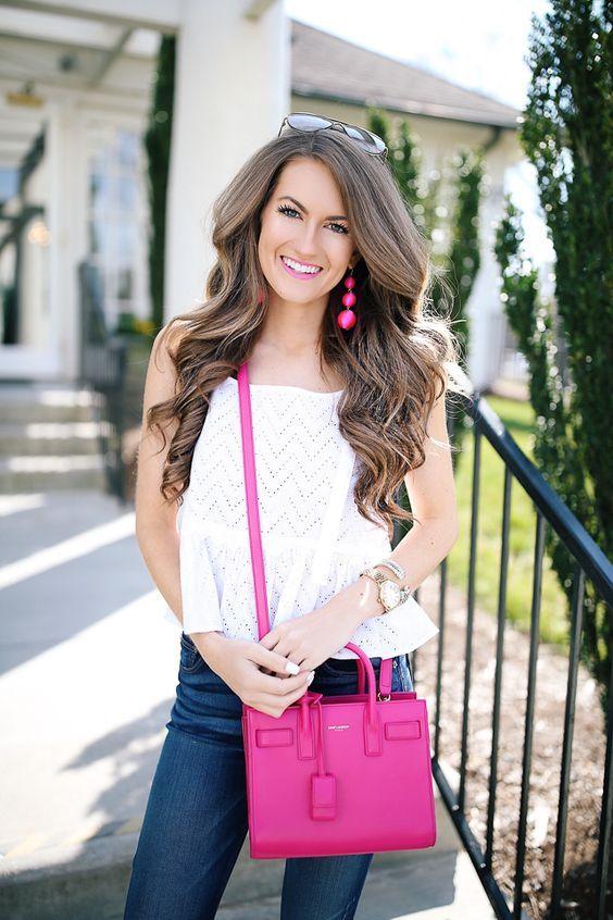 23 bright color handbag outfit ideas | Fashion, Outfits, Designer .