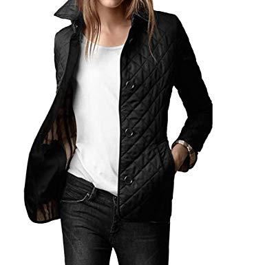 Entertain elegant quilted jacket women – thefashiontamer.c