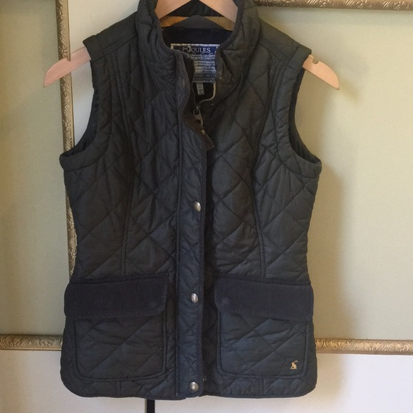 Joules Jackets & Coats | Womens Quilted Vest In Everglade Green .