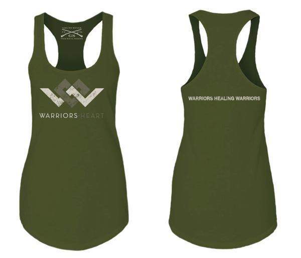 Grunt Style Racerback Tank Top - Green – Warriors Hea