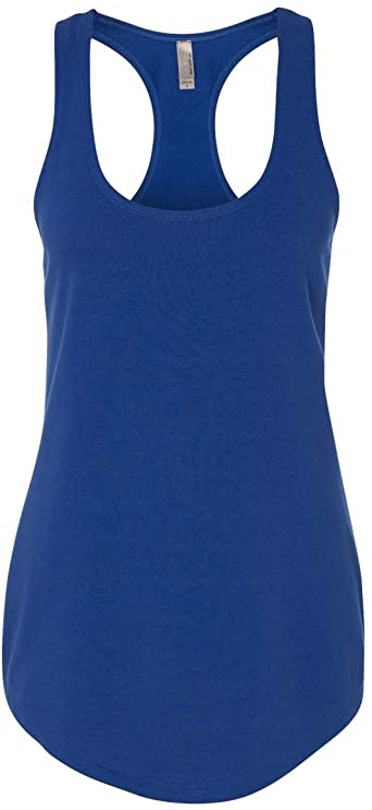 Next Level Ladies The Terry Racerback Tank - ROYAL - S - (Style .