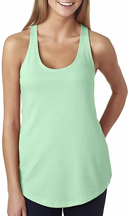 Next Level Ladies The Terry Racerback Tank - MINT - S - (Style .