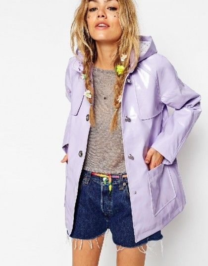 Trendy Ways to Wear a Rain Coat - Outfit Ideas