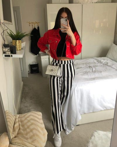 Striped Pant Outfits - 22 Best Ways To Wear Striped Pan