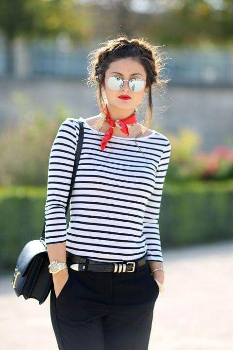Style Guide: How to Wear Striped Tee Like A Pro - Miss Prettypi