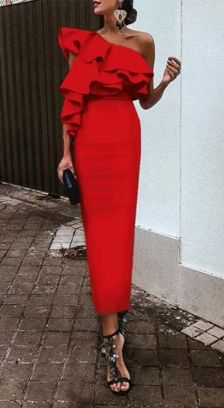 Wedding guest red dress outfit ideas 37 Ideas for 2019 #dress .