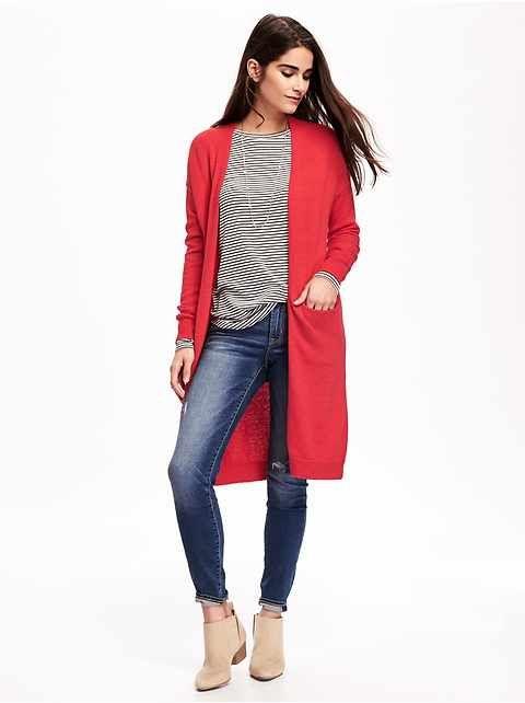 "Women""}},{""@type"":""ListItem | Long red cardigan, Red cardigan ."