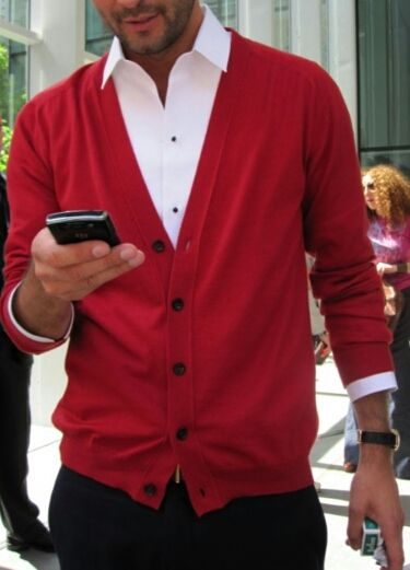 Simple and beautiful | Well dressed men, Red shirt dre