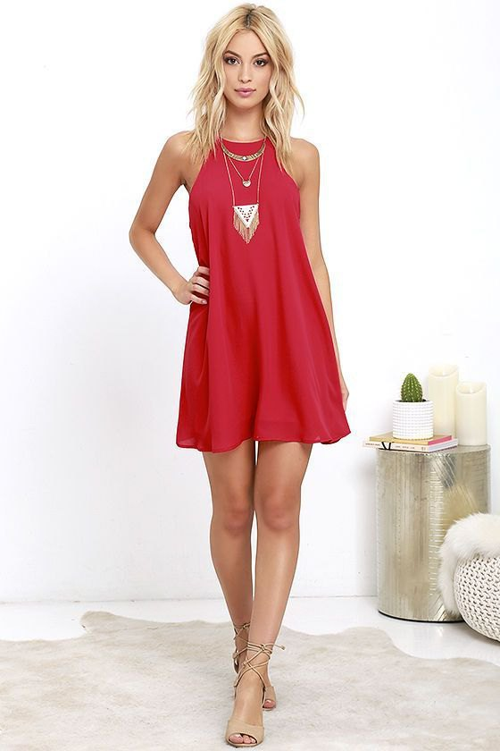 How to Style Red Cocktail Dress: 14 Top Outfit Ideas - FMag.c