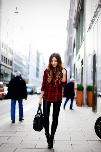 How to Wear Flannel Shirts - 20 Best Flannel Outfit Ide