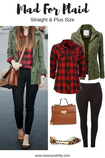 From Pinterest To Your Closet | Plaid outfits, Plaid shirt outfits .