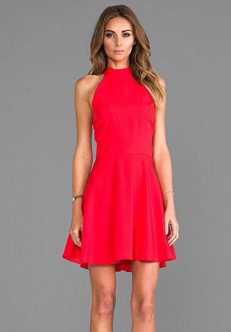 Red Halter Top | WardrobeMag.c