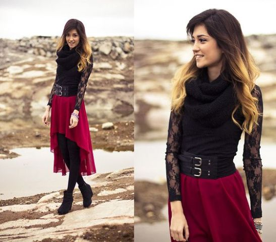 20 Outfit Ideas With High-Low Skirts And Dresses - Styleohol