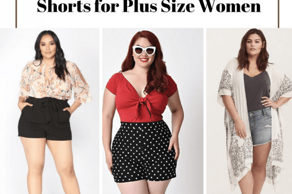 20 Ideas on How to Wear High Waisted Shorts for Plus Size Women .