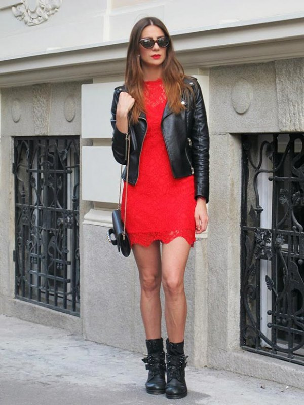 How to Style Red Lace Dress: 15 Feminine Outfit Ideas - FMag.c