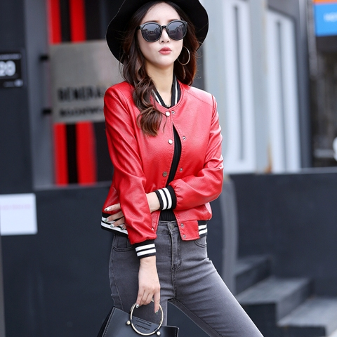 18 Women Outfit Ideas With Leather Bomber Jackets - Styleohol
