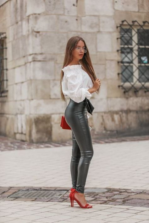 18 Faux Leather Leggings Tested Outfit Ideas 2020 .