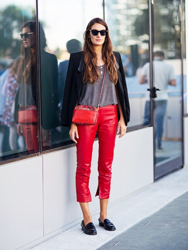 100+ Leather Pants Outfits to Showcase Your Inner Rock St