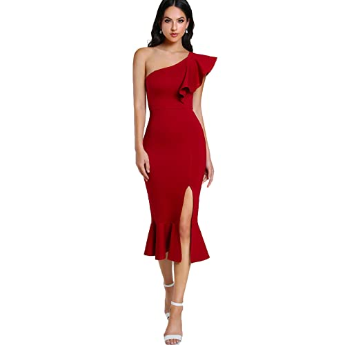 Red Party Dresses: Amazon.c