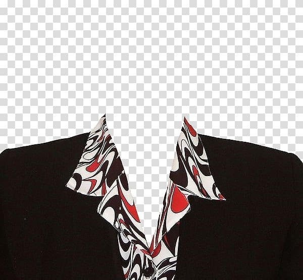 Black, white, and red suit jacket , Clothing Suit Formal wear, Ms .