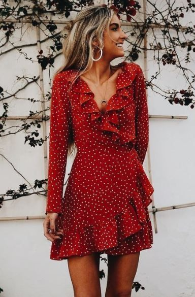 15 Wrap Dresses Perfect For A Summer Wedding | Fashion, Clothes .