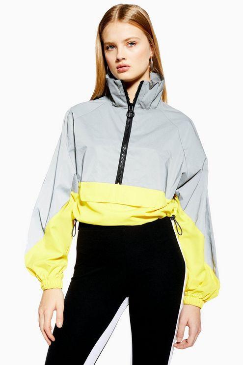 Reflective Windbreaker Jacket | Windbreaker jacket, Fashion .
