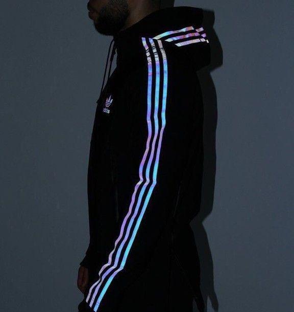 Adidas XENO Hoody | Fashion, Holographic adidas, Cloth