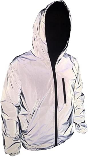 TR Mens 3M Super Bright Reflective Jacket Coat at Amazon Men's .