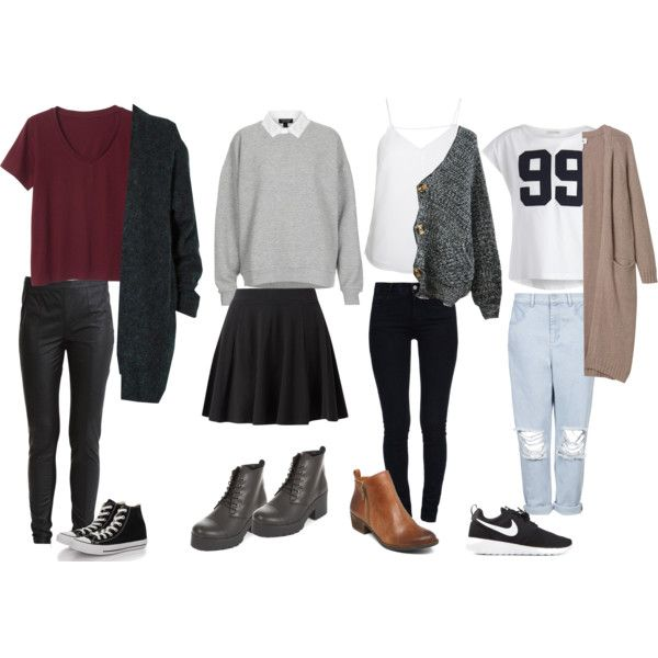 Back To School Relaxed Outfit Ideas: Oversized Sweaters & Long .