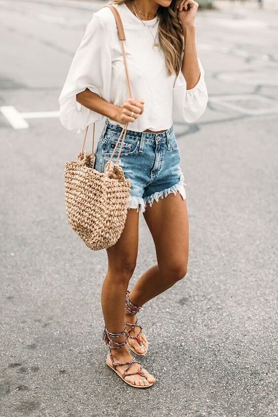 50 Awesome Outfit Ideas To Wear This Summer | Short outfits .