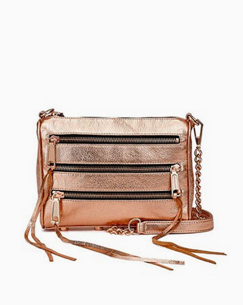 LOVE this Rose Gold Purse!! - click to see more summer fashion .