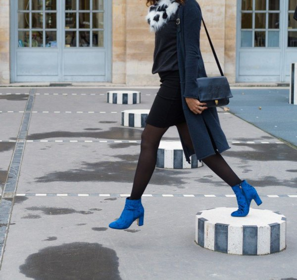15 Amazing Royal Blue Boots Outfit Ideas: Style Guide - FMag.c