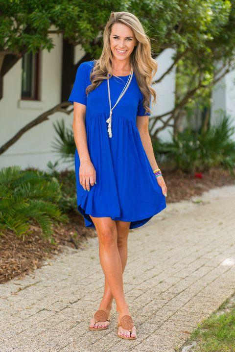 Playful Playlist Dress, Royal Blue - Playful Playlist Dress, Royal .