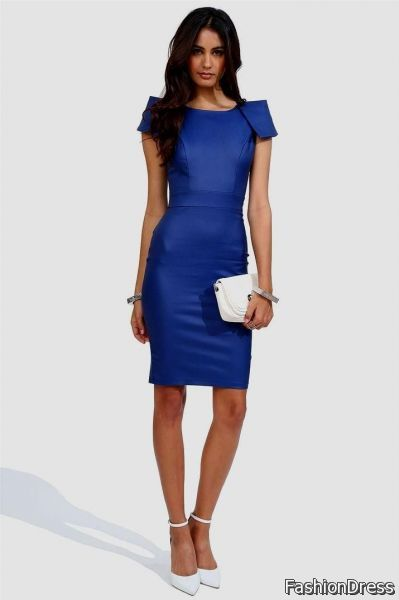 royal blue dress outfit ideas | NewClotheSh