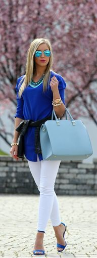 188 Best Outfits with blue shoes images | Outfits, Fashion, Sty