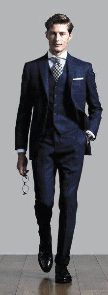 90 Navy Blue Suit Styles For Men - Dapper Male Fashion Ide