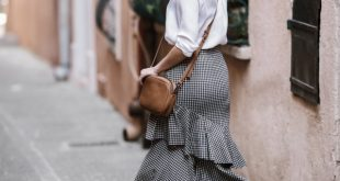 How to Style Ruffle Skirt: 13 Best Outfit Ideas - FMag.c