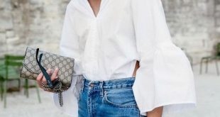 Ruffle Sleeve Blouse: 14 Chic and Stylish Combinations - FMag.c