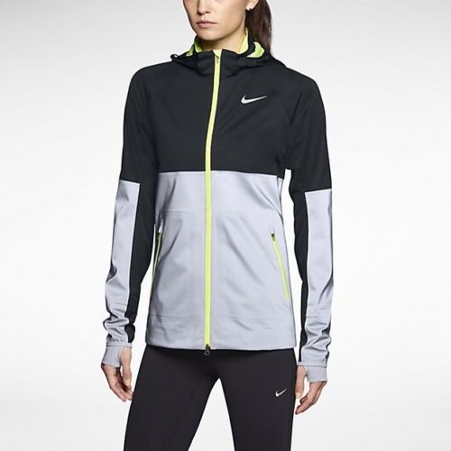 Nike Women's Shield Flash 3M Reflective Running Jacket Size M .