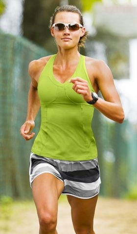 Shop by Sport: Run Outfit Ideas | Athleta : Va Va Tank and Stripe .