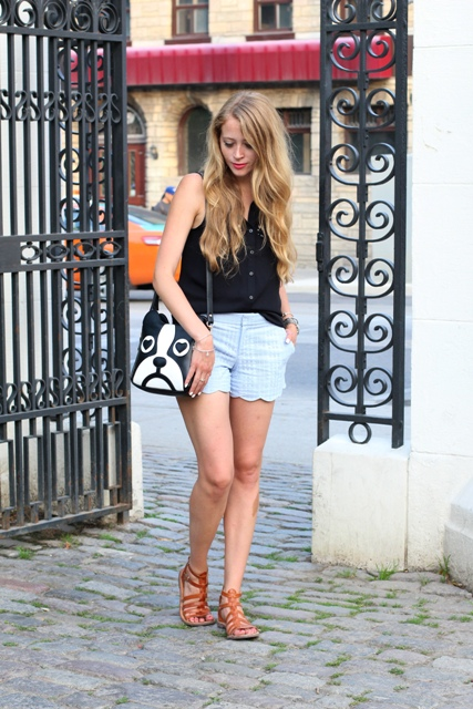 21 Scallop Shorts Outfits For Stylish Girls - Styleohol