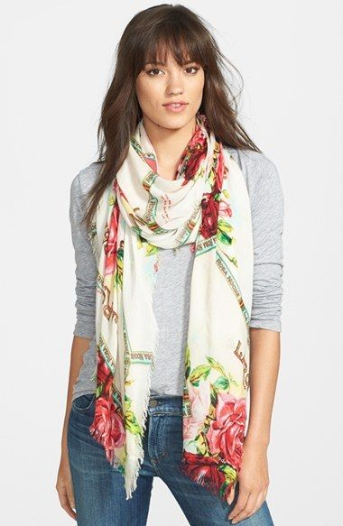 Kate Spade New York 'havana' Summer Scarf | Scarf, Summer scarves .